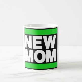 Verde novo da mamã caneca de café