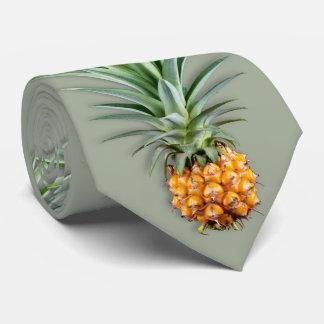 Verde prudente dos abacaxis havaianos gravata