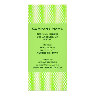 verde quadrado do teste padrão 10.16 x 22.86cm panfleto