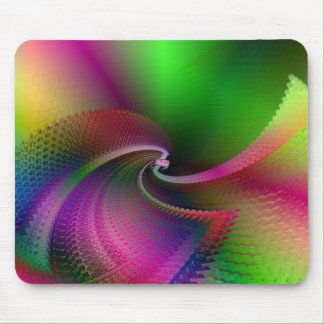 verde roxo mouse pad