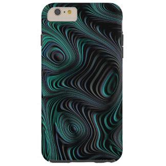 Verde selvagem capa tough para iPhone 6 plus