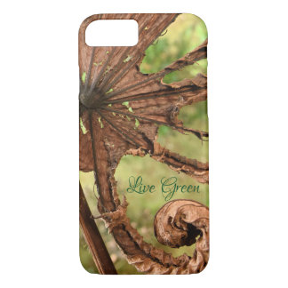 Verde vivo - folha da banana - capa de telefone da