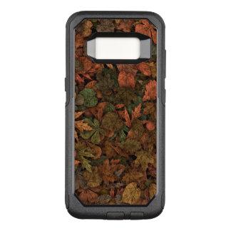 Verdes da camuflagem das folhas do carvalho do capa OtterBox commuter para samsung galaxy s8