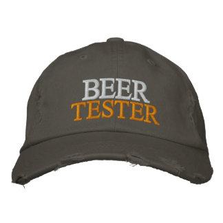 Verificador da cerveja boné bordado