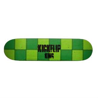 verificador, KickFlip, rei Skate