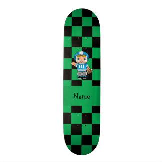 Verificadores conhecidos personalizados do verde d skate