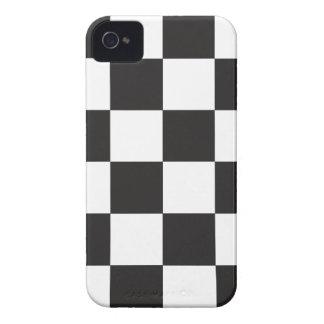 Verificadores preto e branco capinha iPhone 4