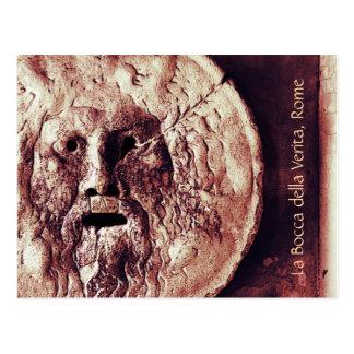 Verita do della do bocca do La, cartão de Roma
