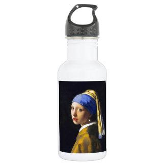 ~ Vermeer do brinco da pérola de w da menina