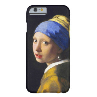 ~ Vermeer do brinco da pérola de w da menina Capa Barely There Para iPhone 6