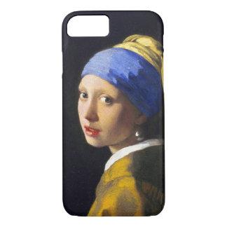 ~ Vermeer do brinco da pérola de w da menina Capa iPhone 7
