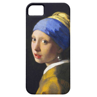 ~ Vermeer do brinco da pérola de w da menina Capas Para iPhone 5