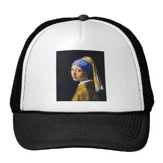 ~ Vermeer do brinco da pérola de w da menina Bone