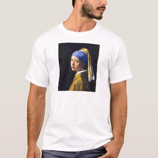 ~ Vermeer do brinco da pérola de w da menina T-shirts