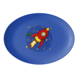 """Vermelho 13"""" de Rocket x 9,25"""" bandeja do cupé da"""
