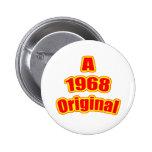 Vermelho 1968 original botons