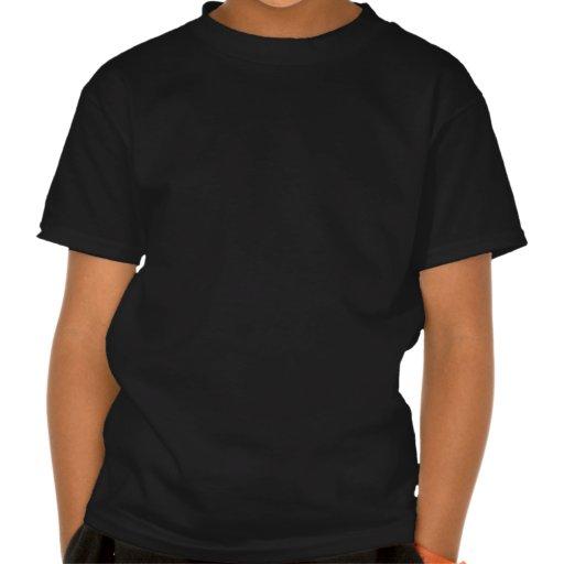 Vermelho alaranjado Sun Camisetas