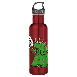 Vermelho da garrafa de água de Greep