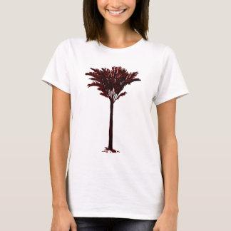 Vermelho da palmeira 2 os presentes de Zazzle do Camiseta