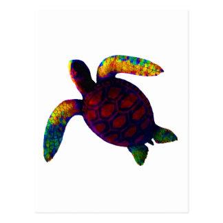 Vermelho da tartaruga os presentes de Zazzle do Cartão Postal