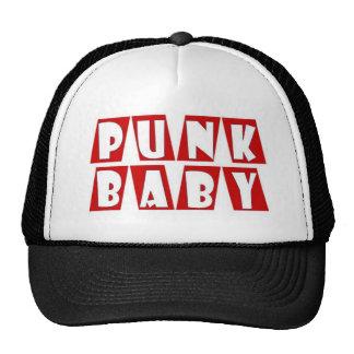 vermelho do bebê do punk boné