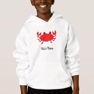 Vermelho do caranguejo do mar