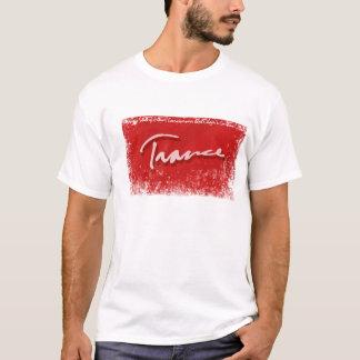 Vermelho do raio do Trance Camiseta