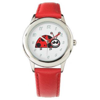 Vermelho do relógio do Senhora-Inseto (miúdos) por