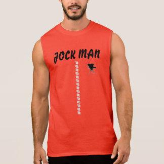 Vermelho do t-shirt do HOMEM do JÓQUEI