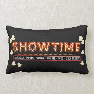 Vermelho e ouro do descanso de Showtime do cinema Travesseiros De Decoração