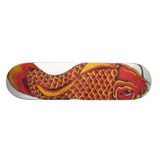 Vermelho e ouro Koi Skates