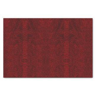 Vermelho escuro - lenço de papel do desenhista