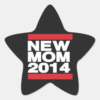 Vermelho novo da mamã 2014 adesito estrela