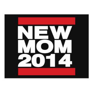 Vermelho novo da mamã 2014 cartão postal
