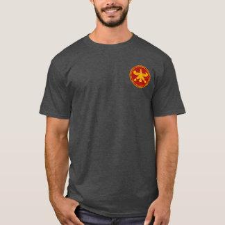Vermelho persa dos Immortals & camisa do selo do