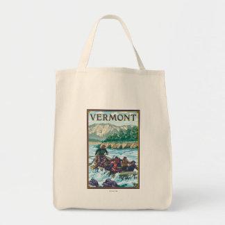 VermontRiver que transporta a cena Sacola Tote De Mercado