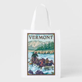 VermontRiver que transporta a cena Sacolas Ecológicas Para Supermercado
