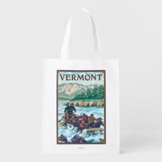 VermontRiver que transporta a cena Sacola Reusável