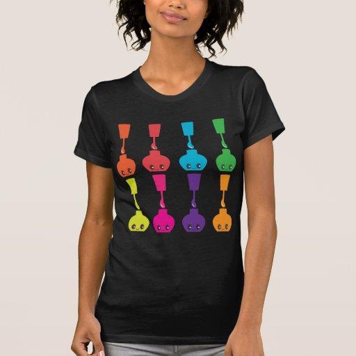Verniz para as unhas bonito! t-shirts