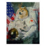 Versão da pintura do Doge Posteres