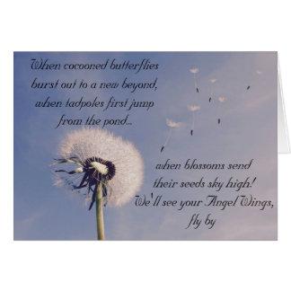 Verso original original do cartão