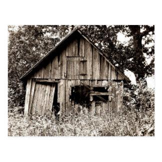 Vertente velha da fazenda cartão postal
