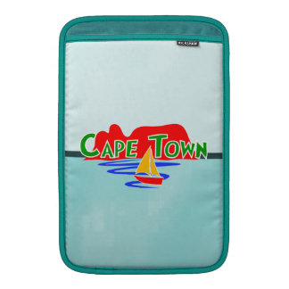 "Vertical 11"" de Cape Town capas de ar de Macbook"