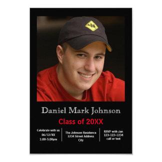 Vertical da foto - anúncio da graduação 3x5