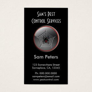 Vertical feito sob encomenda do controlo de pragas cartão de visitas
