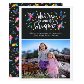 Vertical floral brilhante do cartão | do feriado