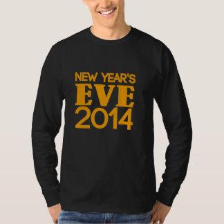 Véspera de ano novo 2014 t-shirt