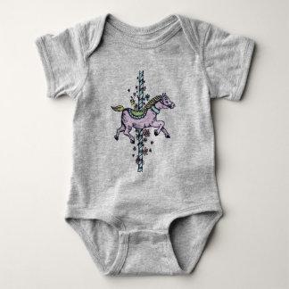 Veste do bebê do carrossel body para bebê