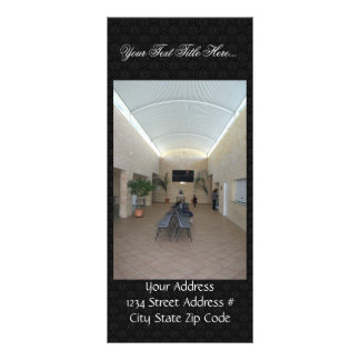 Vestíbulo de salão de reunião em Clarkson em Austr Planfetos Informativos Coloridos