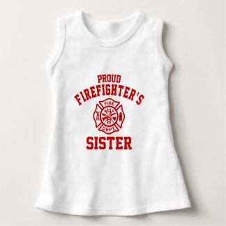 Vestido A irmã do sapador-bombeiro orgulhoso